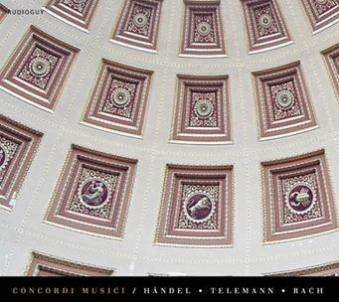 HAENDEL TELEMANN BACH / Concordi Musici / 2012 / Audioguy (KR)